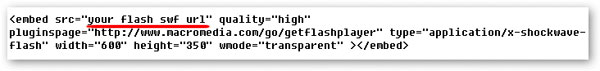7 Useful Ways for Embedding Flash SWF into WORDPRESS(Other Media Files also Apply)